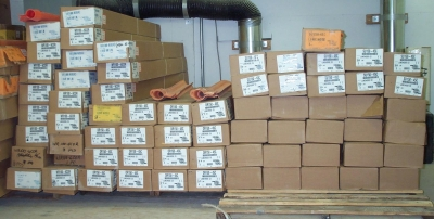 Proper Packing & Shipping of Rubber Goods & Equipment