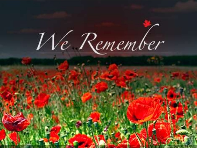 Remembrance Day November 11th